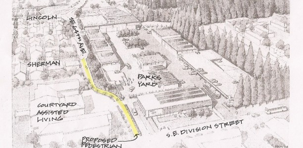 100 Years Later – Access to Mt. Tabor Park at SE 64th