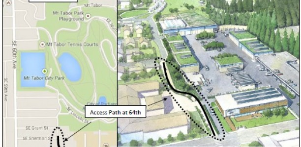 Improving Pedestrian and Bicycle Access to Mt. Tabor Park