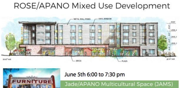 ROSE/APANO Mixed Use Development