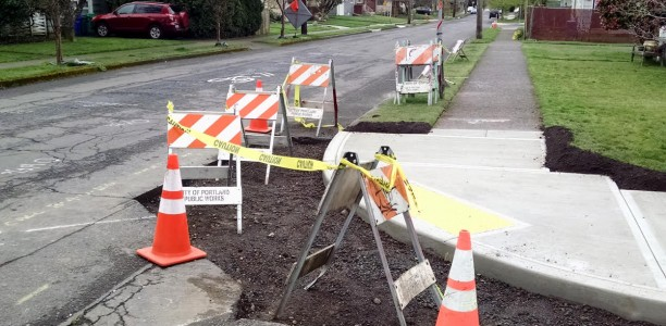 New paving coming to SE Woodward St.